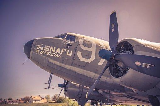 C-47, D-day, World, War, Ii, Aircraft, Airplane
