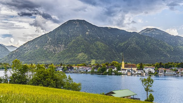 Tegernsee, Church, Nature, Bavaria, Alpine, Lake