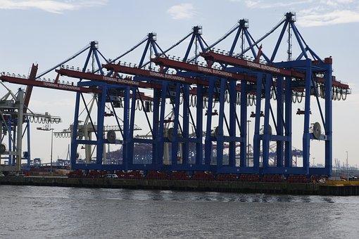 Container Gantry Crane, Container Handling, Port