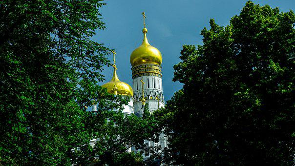 Moscow, Cateral, Russia, Religion, Dome