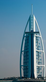 Dubai, Tower Of The Arabs, Burj Al Arab, Building, View