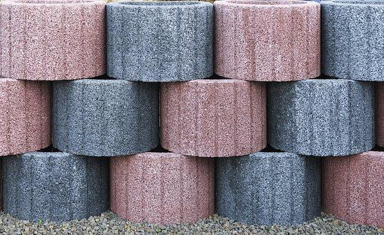 Embankment Stones, Garden Blocks, Concrete Blocks