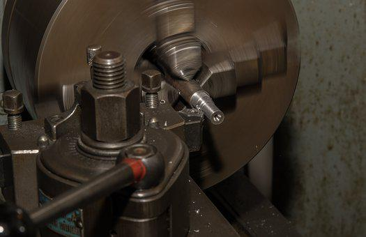 Lathe, Industry, Turning Tool, Metal, Technology