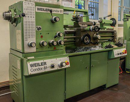 Lathe, Industry, Mechanical Engineering, Technology
