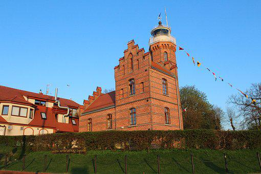 Ustka, Lighthouse, Navigation, Light Signals, Lanterns