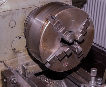 Rotary Head, Lathe, Metal, Technology