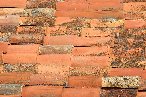 Tiles, Terracotta, House, Architecture, Material, Old