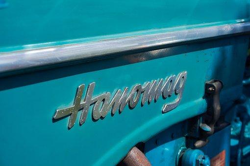 Tractor, Hanomag, Oldtimer, Restored, Agriculture, Blue