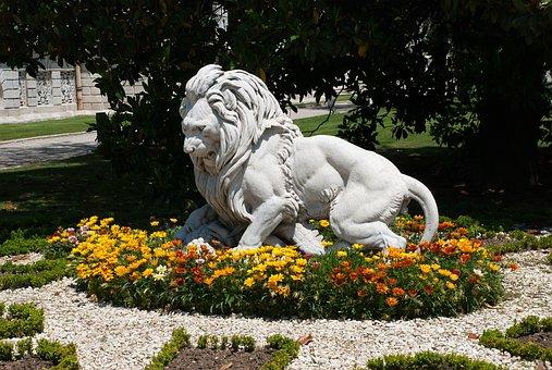 Leo, Sculpture, Park, Statue