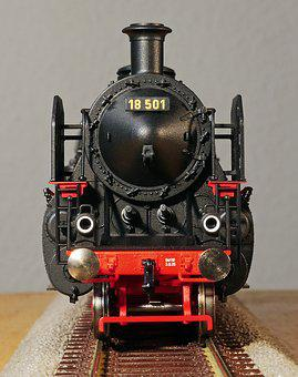 Steam Locomotive, Model, Scale H0, Bavarian, S 3-6