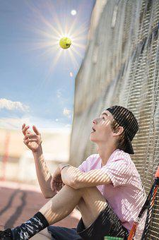 Tennis, Sport, Summer, Play, Game, Active, Ball, Player
