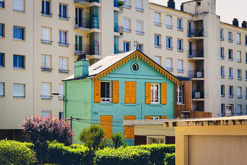 House, Colourful, Architecture, Lonesome, Design, Town