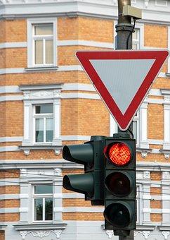 Traffic Lights, Road, Right Of Way, City, Traffic, Auto