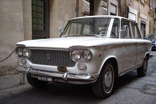 Car, Auto, Automobile, Fiat, Vehicle, Ancient, Vintage
