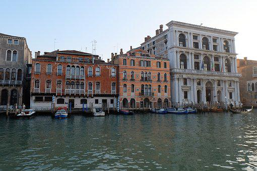 Venice, Italiy, The Façade Of The, Italy, Architecture