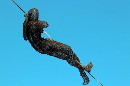 The Lower Area Of Vitkovice, Wire Sculpture, Art