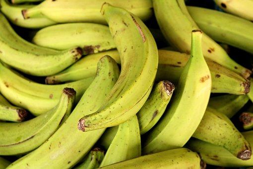 Banana, Market, Fruit, Yellow, Healthy, Food