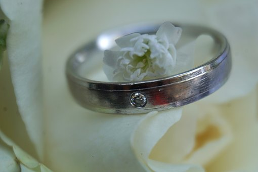 Wedding Ring, Stone, Ring, Before, Wedding, Love, Marry