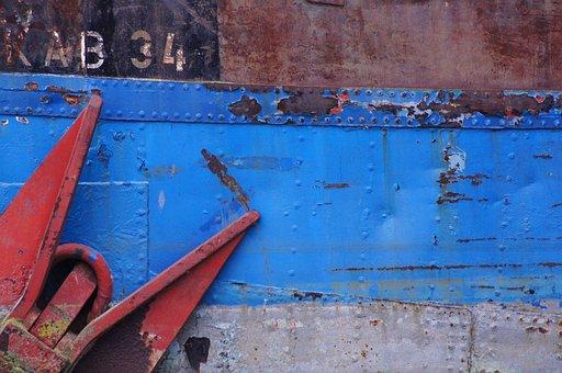 Anchor, Ship, Port, Boot, Ship Anchor, Steel, Metal