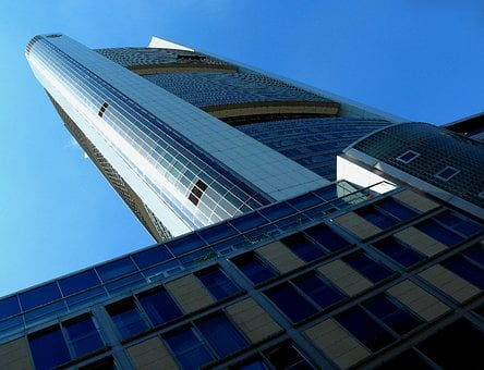 Skyscraper, Skyscrapers, Building, Frankfurt