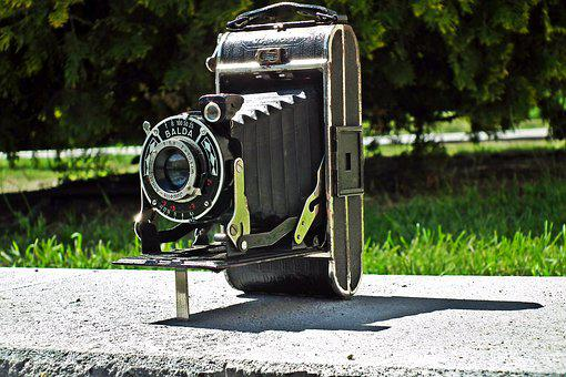 Camera, Retro, Photo, Monument