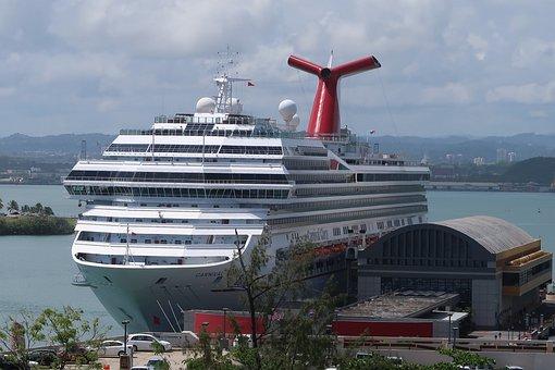 Puerto Rico, San Juan, Port, Ship, Cruise Ship