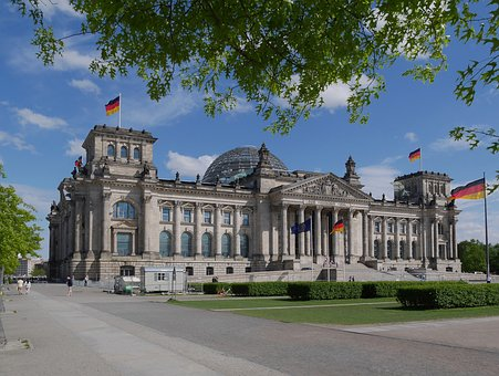 Reichstag, Berlin, Bundestag, Dome, Chamber, Germany