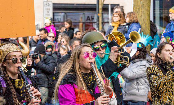 Parade, Musician, Band, Festival, Marching, Celebration