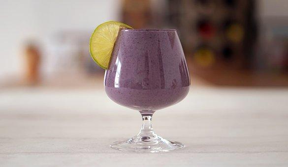 Smoothie, Smoothies, Purple, Food, Drink, Restaurant