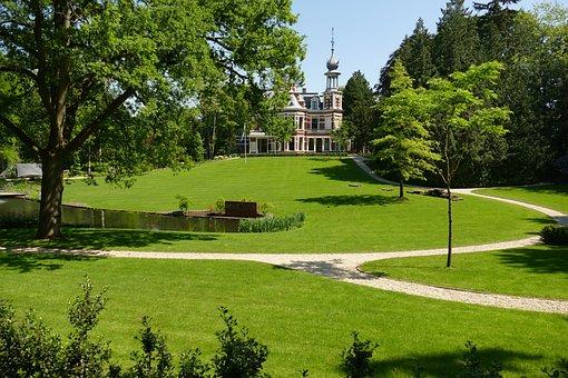 House, Manor, Villa, Mountain-and-valley, Baarn
