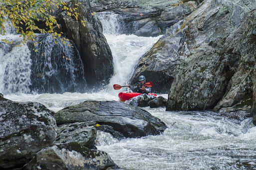 Whitewater, Kayaking, Kayak, River, Water, Adventure