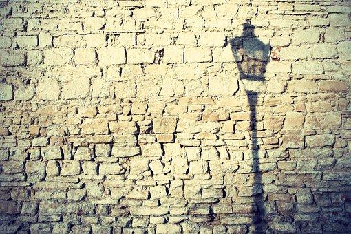 Wall, Lamp, Shadow, Public Lighting