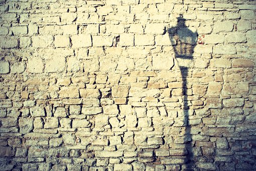 Wall, Lamp, Shadow, Public Lighting