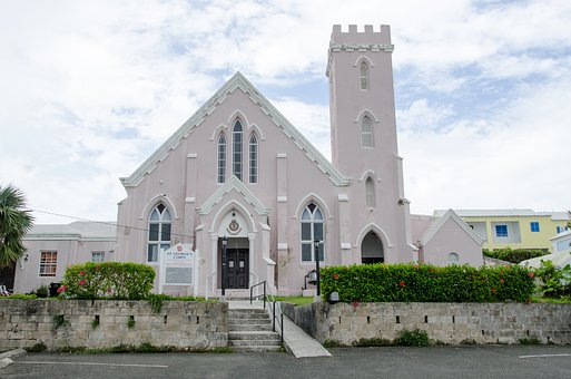 Architecture, Church, Bermuda, Religious, Landmark