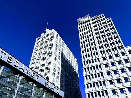 Berlin, Skyscraper, Architecture, Building, Modern