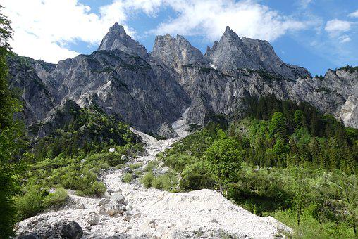 Alpine, Berchtesgaden, National Park, Massif