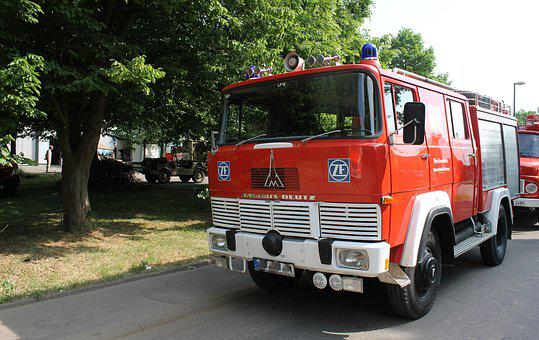 Fire, Old, Vehicles, Fire Fighting, Fire Truck