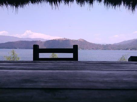 Laguna, Landscape, Sunset, Restaurant