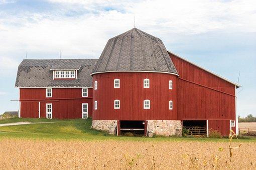 Barn, Rural, Farm