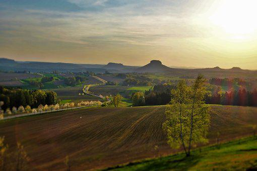 Saxon Switzerland, Lily Stone, Elbe Sandstone Mountains