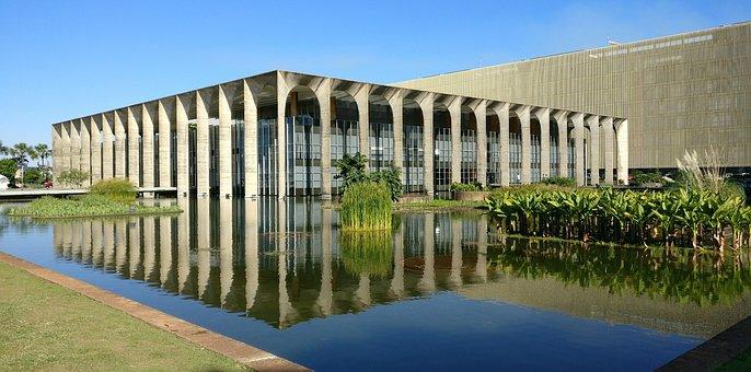 Itamarati, Brasilia, Brazil, Water, Sol, Landscape, Sky