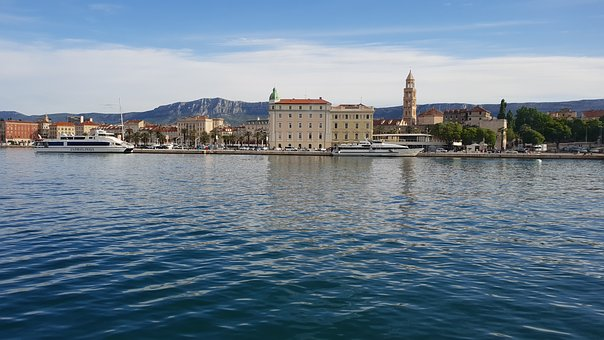 Split, Croatia, Adriatic, Diocletian Palace, Old Town