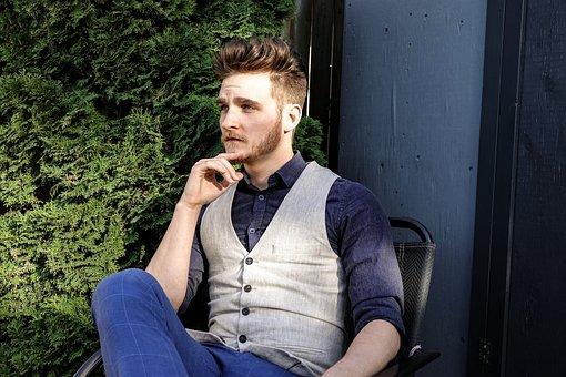 Man, Mens Fashion, Fashion, Style, Stylish, Guy, Hair