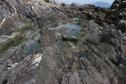 Sea, Rocks, Waves, Italy, Liguria, Water, Boulders