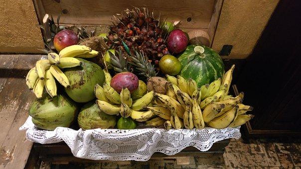 Fruit, Beauty, Food, Fruits, Banana Tree, Wild Fruits