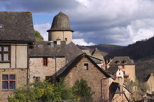 Conques, Medieval, Village, Aveyron, Heritage