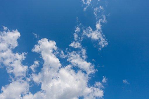 Clouds, Blue Sky, Summer, Blue Sky Background