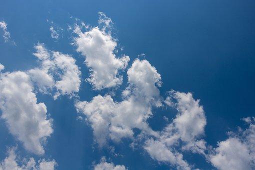 Sky, Clouds, Blu, Blue Sky Clouds, Cloudscape, Cumulus