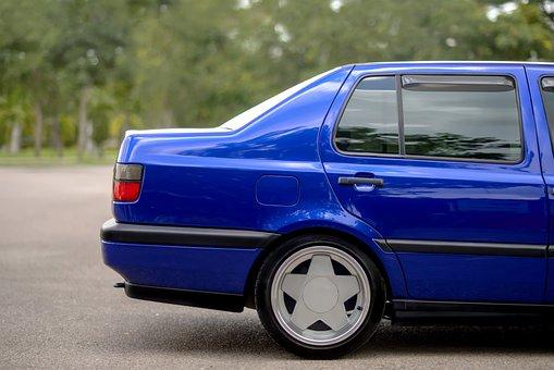 Car, Blue, Vehicle, Automobile, Transportation, Auto