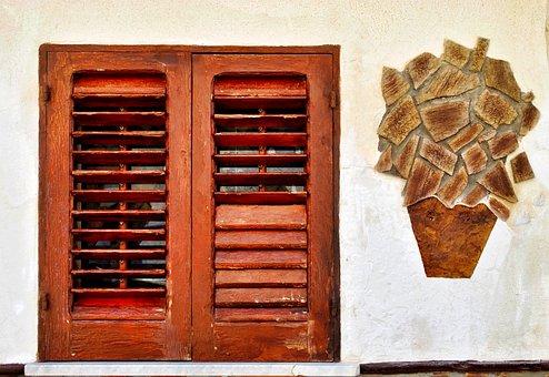 Window, Vase, Flower, Succulent Plant, Vases, Cactus